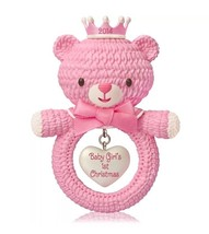 HALLMARK Ornament BABY GIRL'S FIRST CHRISTMAS 2014 New FREE SHIPPING - $19.95