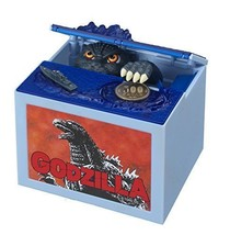 Godzilla Movie Musical Monster Moving Electronic Coin Money Piggy Bank B... - $45.42