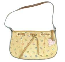 Vintage Monogram Dooney & Bourke MultiColor Signature Shoulder Bag Handbag Purse - $42.56