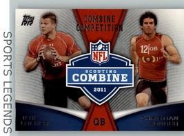 2011 Topps Rising Rookies Scouting Comine CC-LP Jake Locker Christian Po... - $1.00