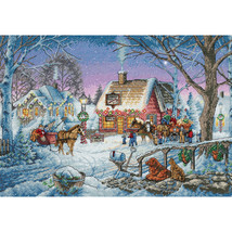 """Dimensions Gold Collection Counted Cross Stitch Kit 16""""X11""""-Sweet Memories - $35.96"""