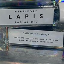 2 (Two)NEW Herbivore 8mL LAPIS Facial Oil Best For Acne Prone/Oily Skin Nourish image 3