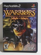 Warriors of Might and Magic (Sony PlayStation 2, 2001) COMPLETE - $9.49