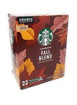 Starbucks Fall Blend Medium Roast K Cups Pods - 22 count - 1 box - $39.19