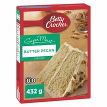 1 PACK Betty Crocker Butter Pecan SuperMoist Cake Mix 432g From Canada F... - $11.83