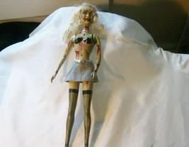 Milie Cyrus Zombie Doll Halloween Hannah Montana repaint Talking dead Ho... - $68.31