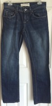 Juicy Couture Jeans Dark Wash Low Waist Straight Leg Women's Jeans Size 28 - $19.75