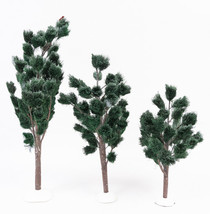 Department 56 Snow Village Jack Pines Set of 3  Used In Box 52622 - $18.49