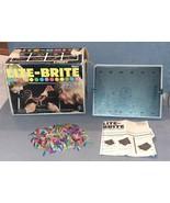 Lite Brite #5455 + Pegs [w/ Box] 1973 WORKS! - $20.00