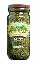 Spice Islands Mint 0.6 Oz (1 Glass Bottle/Jar) New Sealed Fresh - $14.84