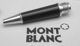 MontBlanc pen replacement parts Mont Blanc Low Barrel  Black Platinum - $30.54