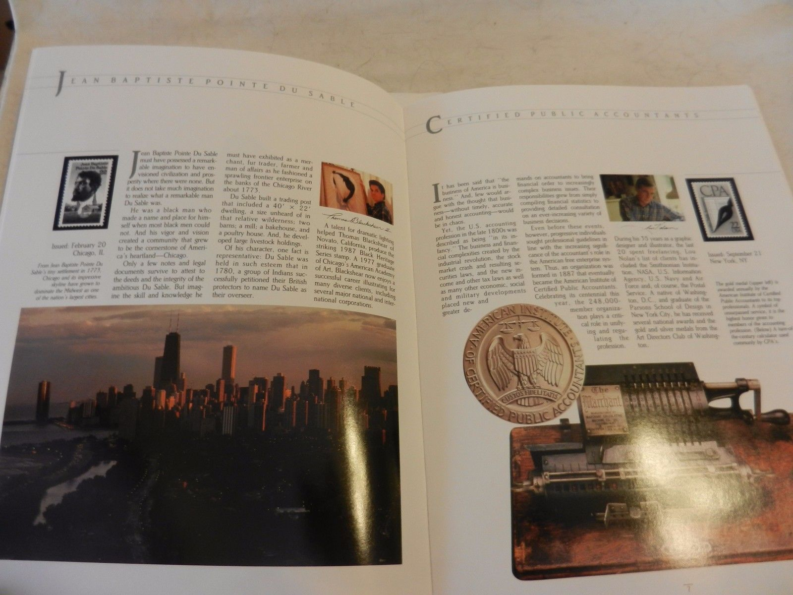 1987 USPS Commemorative Mint Stamp Set with Booklet & Stamps
