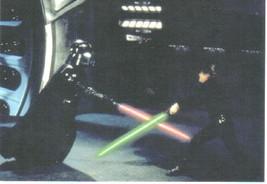 Star Wars Darth Vader and Luke Skywalker 4 x 6 Postcard, NEW UNUSED  - $2.00