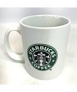 Starbucks Coffee Mug 2006 Classic White Green Siren Mermaid Logo Tea Cup... - $16.82