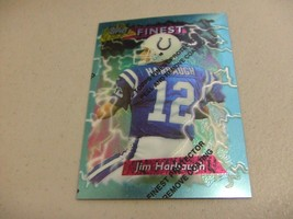 1995 Topps Finest w/peel #96 Jim Harbaugh -Indianapolis Colts- - $3.12