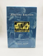 Brand New Sealed 1998 Star Wars Special Edition Light Side Starter Deck - $19.79