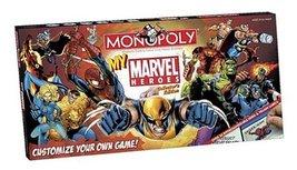 My Marvel Heroes Monopoly - $107.41