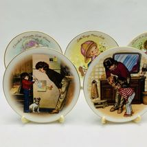 Avon Mothers Day Plates Set of 11 with Easels 1981-1991 image 4