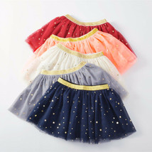 Cute Baby Girls Tulle Tutu Skirt Star Print Toddler Summer Clothing Newb... - $9.98+