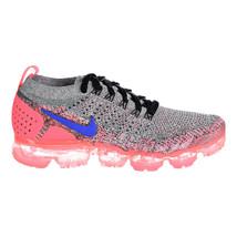 Nike Air Vapor Max Flyknit 2 Womens Shoes White-Ultramarine-Hot Punch 94... - £215.81 GBP
