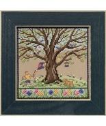 Spring Oak 2017 Quartet Mighty Oak tree series cross stitch kit  Mill Hill - $15.30