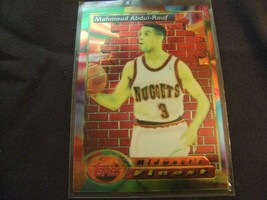 1993-94 Topps Finest  #114 Mahmoud Abdul-Rauf -Denver Nuggets- - $3.12