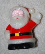 """Vintage Santa Claus Plastic Christmas Ornament Tabletop Decoration 3.5""""  - $14.80"""