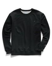 Champion Men's Powerblend Sweats Pullover T-Shirt Crew Black CS0888-003 - $40.00