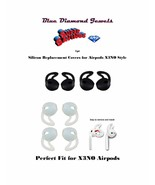 1pr Ear Hooks Silicone in-ear Earbuds Cover with Hook for Airpods X3N0 - $4.50+