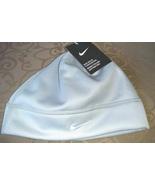 Nike Unisex Artic Fleece Gray White Logo Winter/Running Beanie One Size - $20.00