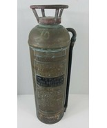 Buffalo Fire Extinguisher New York USA Copper Vintage Man Cave Empty - $143.55