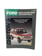 Chilton's Ford Bronco II Explorer Ranger 1983-94 Repair Manual #8159 - $11.83