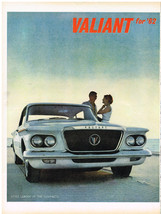 Vintage 1962 Magazine Ad Plymouth Valiant Style Leader Of The Compacts F... - $5.93