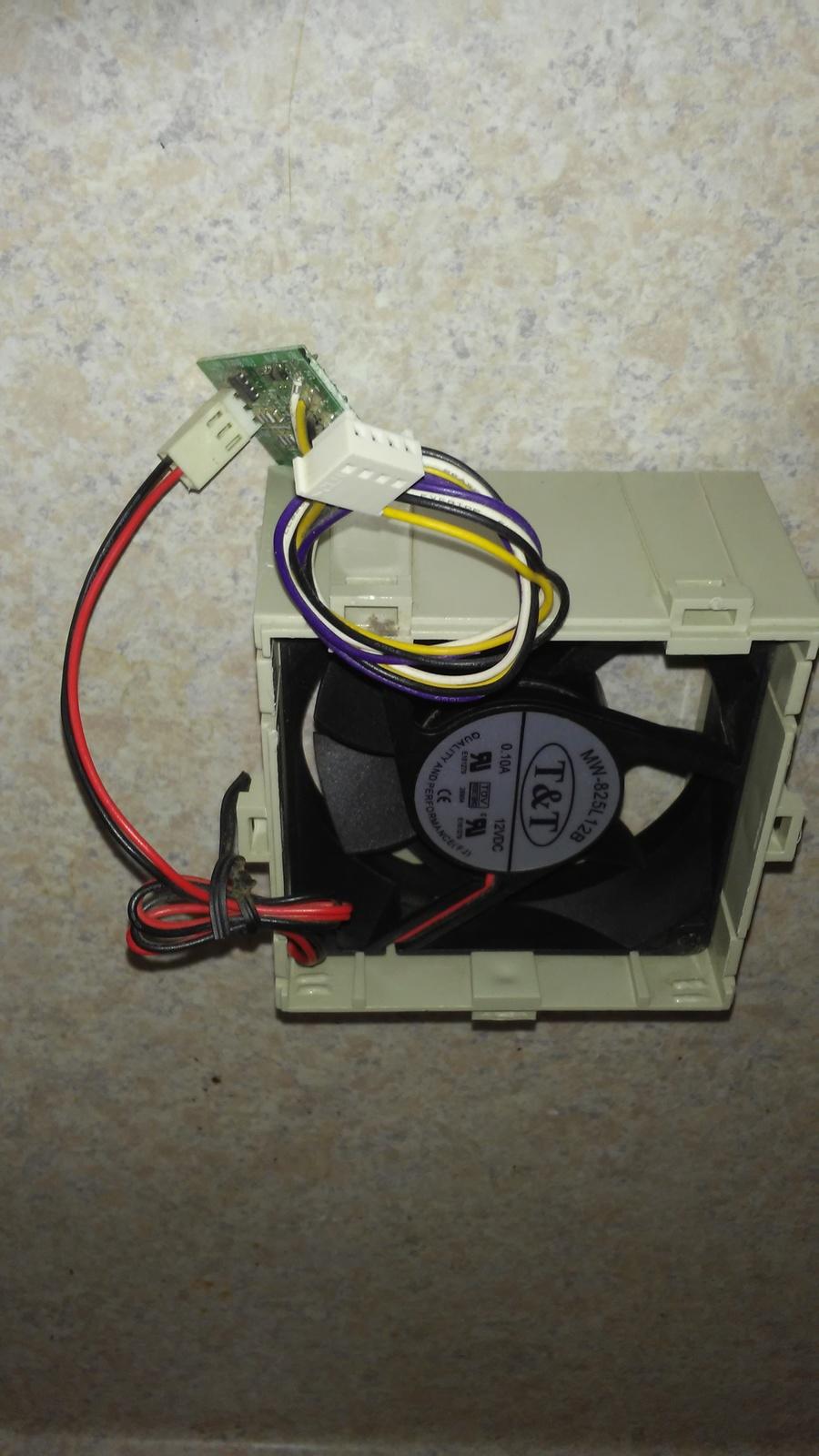 HP 468628-001 Z600 Memory Fan and Shroud Assembly