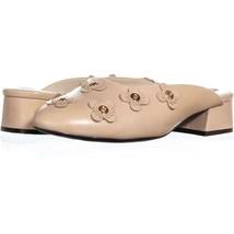 Cole Haan Laree Slide Floral Pointed Toe Slip On Sandals 263, Floral Nud... - $50.87