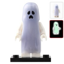 Ghost Glow Halloween Moonlight The Horror Theme Lego Minifigures Block T... - $1.99