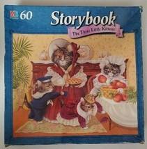 Milton Bradley 60 Piece Storybook Jigsaw Puzzle The Three Little Kittens... - $9.49