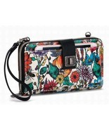 NWT Sakroots Large Smartphone Wristlet Crossbody Optic In Bloom New SHIP... - $59.00