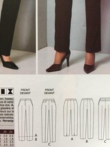 Vogue Sewing Pattern 9155 Misses Petite Pants Size 12-20 New - $16.79