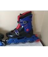 Hot Wheels Roller Blades Youth Boys Size 3 4 5 Inline Roller Skates Adju... - $24.99