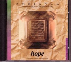 Ambience Hope Featuring Solo Piano and Light Rhythm [Audio CD] - $20.98