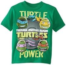 NWT Teenage Mutant Ninja Turtles Boys XL (18) Kelly Green Short Sleeve T... - $13.85