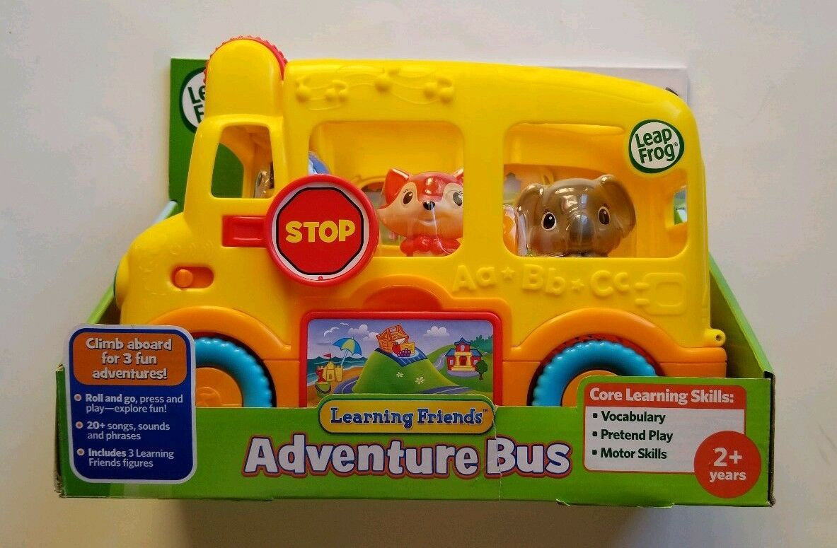 NEW Leap Frog Learning Friends Adventure Bus Core Learning Skills with Figures image 6