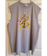 T-Shirt Disneyland 50 Happiest Homecoming on Earth Muscle Sleeveless 2XL... - $12.99