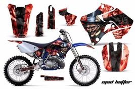 Dirt Bike Graphic Kit Decal Sticker Wrap For Yamaha YZ125 YZ250 96-01 HATTER K R - $169.95