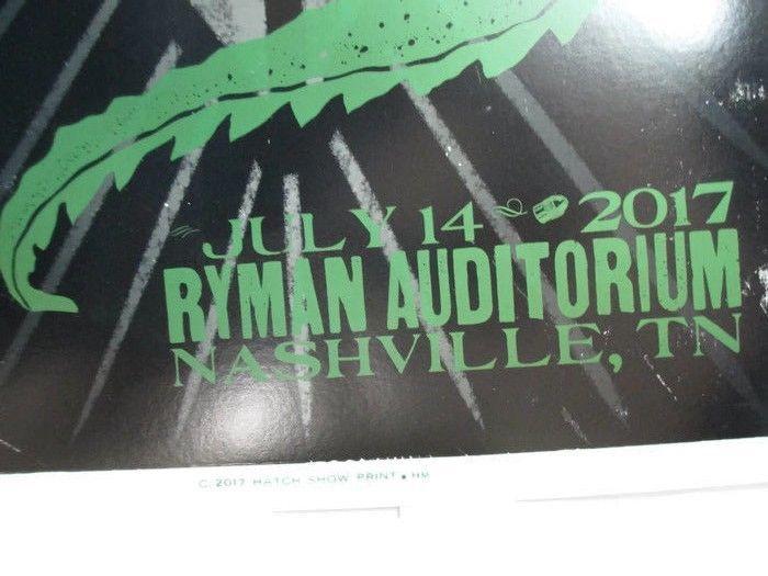Hatch Show Print David Blaine Ryman Nashville 2017  - UNIQUE ITEM