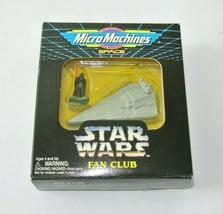 Star Wars Micro Machines Space Fan Club Imperial Star Destroyer w/ Darth Vader - $29.99