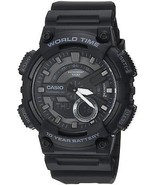 Casio Men's 'CLASSIC' Quartz Stainless Steel And Resin Casual Watch, (M... - £37.03 GBP