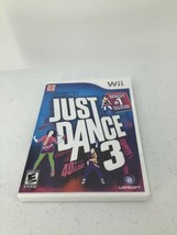 Just Dance 3 (Nintendo Wii, 2011) Complete in Case w/ Manual - $9.49