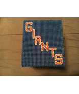 New York Giants Stitch Tissue Cover Box (Please See Photos/Details) - $11.30